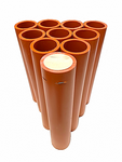 Product Image for Orange HDPE DR11 Mortar Tube